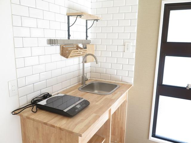 木とタイルにきく【板橋区で空室対策に成功したリノベーション施工事例】の画像