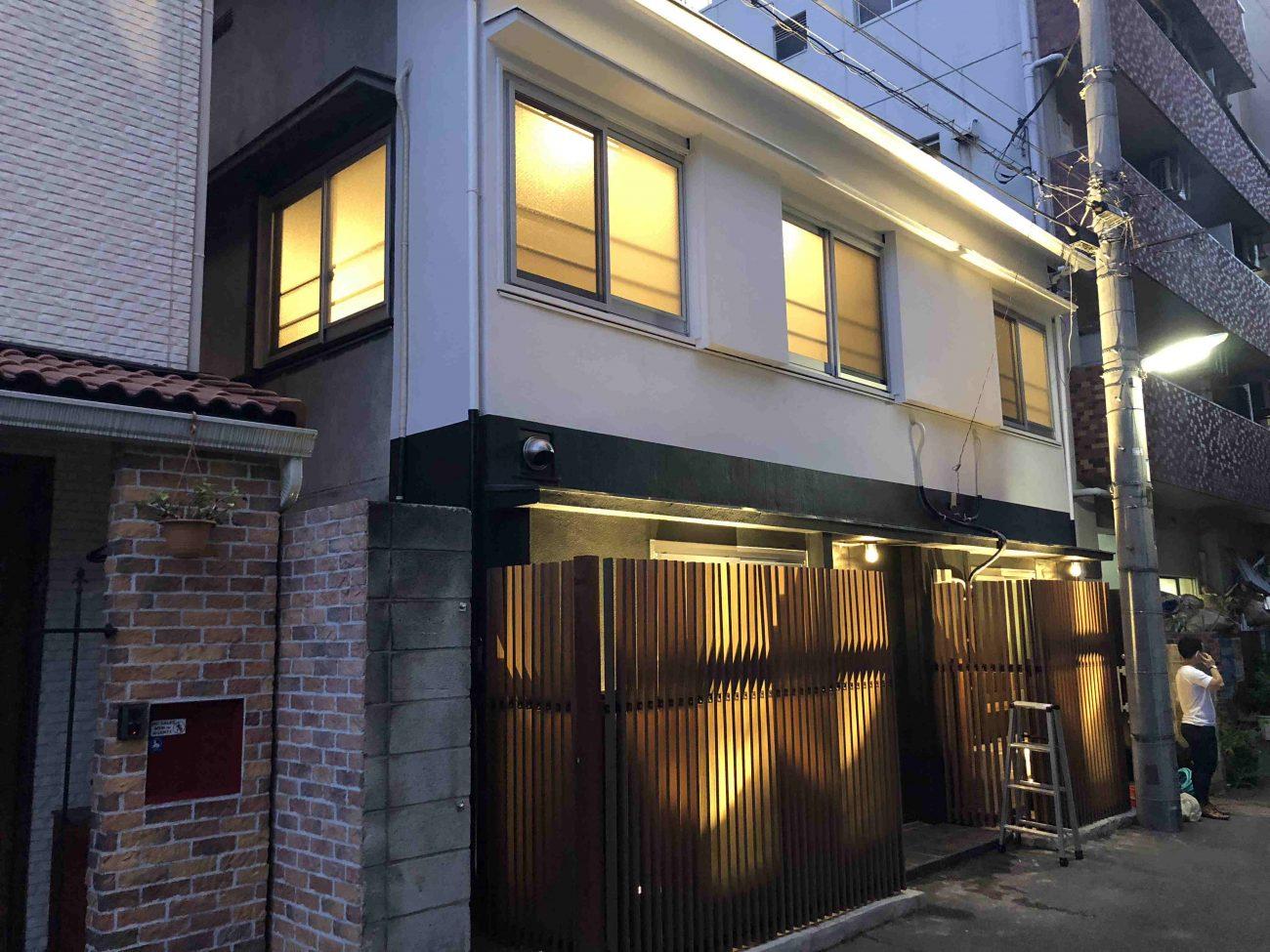 【完成報告】木造戸建ての宿泊所化リノベーション@初台の画像