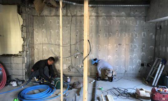 【配管工事】代官山マンスリープロジェクトの画像