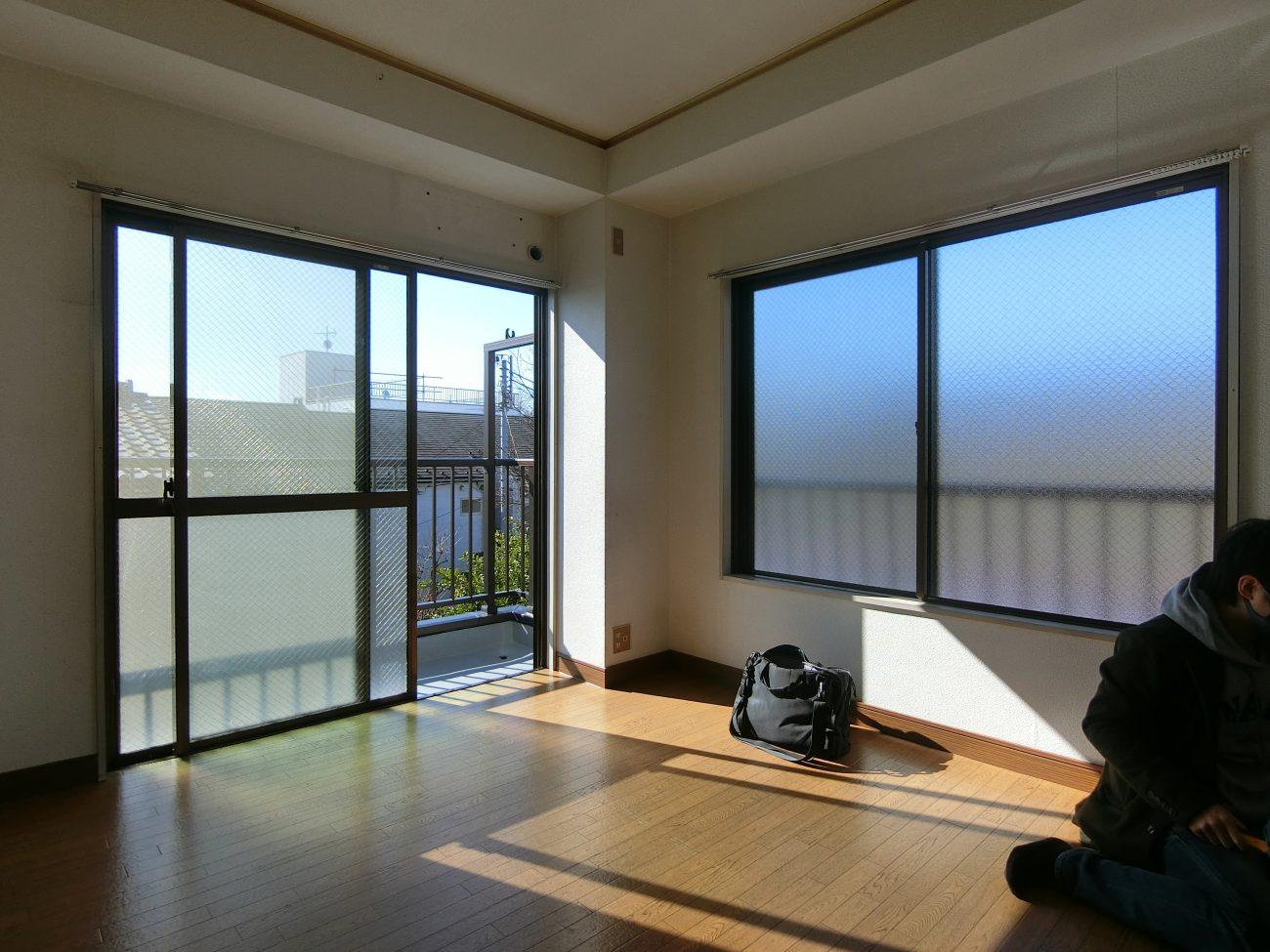 下総中山 築32年RC 25m2ワンルームをナチュラルリノベ、賃料5千円UPの画像