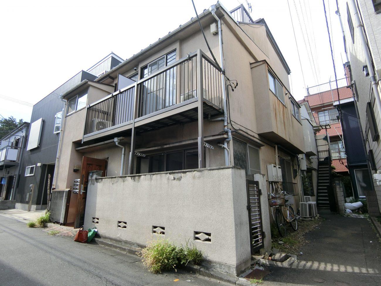 板橋本町 築55年のレトロな木造戸建てを外構リノベでリニューアルの画像