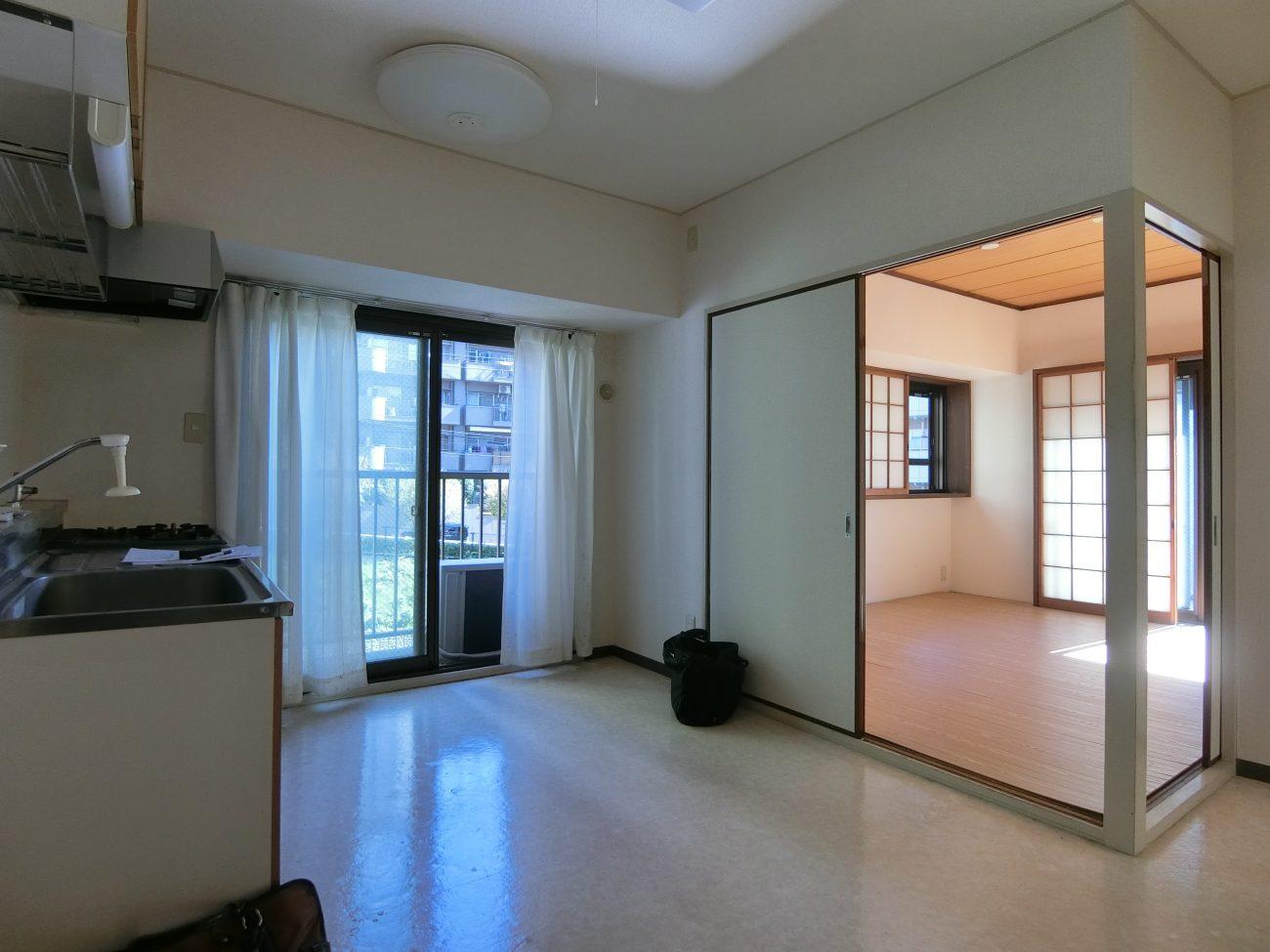 目黒 築40年ヴィンテージマンション リモートワーク用書斎付きフルリノベで賃料UP・即満室の画像