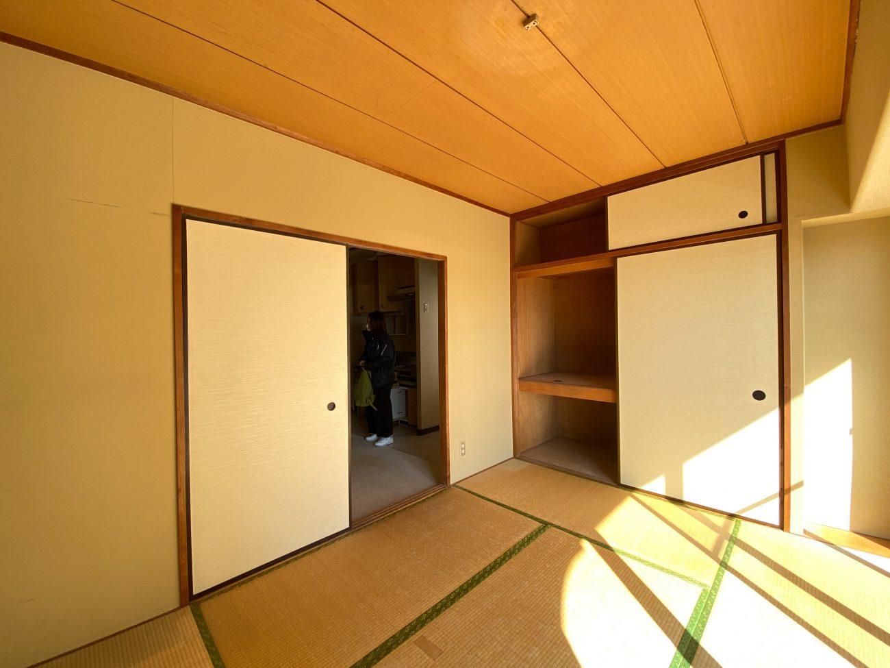 三鷹 築42年 RC 48m2 1LDKヴィンテージマンションをフルリノベで13.2万円に賃料アップ 工事中に満室の画像