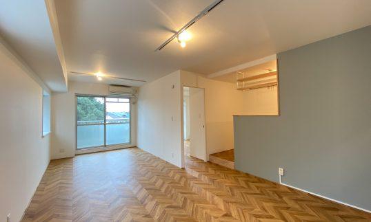 上石神井 築28年 RC 57㎡  ファミリータイプの部屋をリノベーションで完成前に入居確定の画像